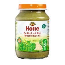 Bio Brokkoli mit Reis, ab dem 5. Monat (190g)