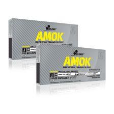 2 x Amok Power Caps (2x60 capsules)