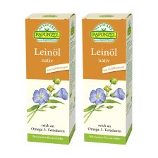 2 x Leinöl nativ bio (2x250ml)