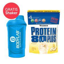Protein 80 Plus (2000g) + Bodylab 24 Shaker gratis