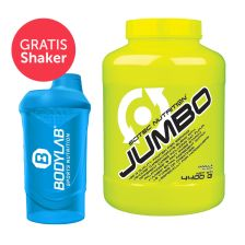 Scitec Nutrition Jumbo (4400g) + Bodylab 24 Shaker gratis