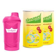 2 x Pulver Almased (500g) + Shaker gratis