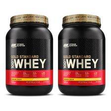 2 x ON 100% Whey Gold Standard (908g)