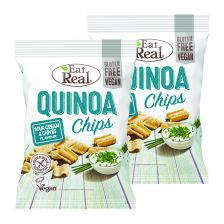 2 x Quinoa Chips Sour Cream & Chives (2x113g)