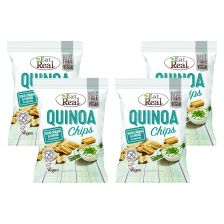 4 x Quinoa Chips Sour Cream & Chives (4x113g)
