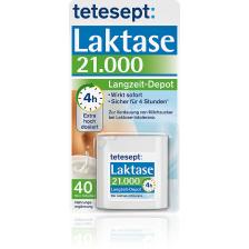 Langzeit Laktase 21.000 (40 Tabletten)