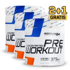 2+1 Concentrated Pre Workout (3x375g)