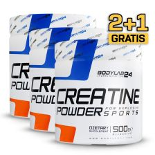 2+1 Creatine Powder (3x500g)
