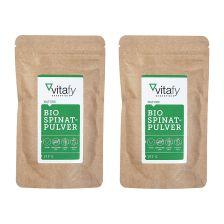 2袋有机菠菜粉 (2袋x 100克)2 x Bio Spinatpulver (2x100g)