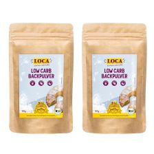2 x Bio Low Carb Backpulver (2x120g) - MHD 28.04.2019
