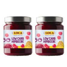 2 x Low-Carb Aufstrich Himbeere (2x270g)