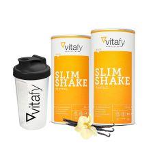 2 x Slim Shake (2x500g) + Vitafy Shaker (600ml)