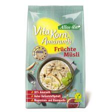 Vita Korn Amaranth Früchte Müsli bio (375g)