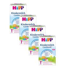 喜宝有机益生菌婴幼儿奶粉 1+ 段 600克,4盒装 4x Kindermilch Combiotik (600g)