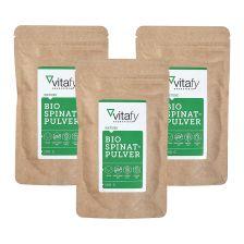 3袋有机菠菜粉 (3袋x 100克)3 x Bio Spinatpulver (3x100g)