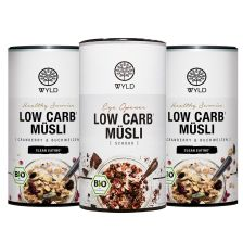 3 x Bio Low Carb* Müsli (3x350g)