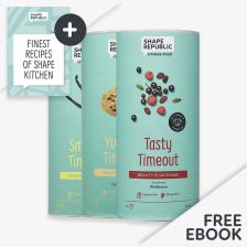 3x Slim Shake nach Wahl — inkl. gratis Rezept Buch