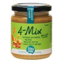 4 Mix - Mischmus mit Erdnüssen bio (250g)