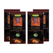 4 x Bitterschokolade 85% Kakao (4x80g)