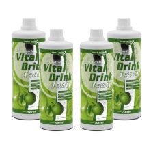 4 x Low Carb Vital Drink Konzentrat (4x1000ml)