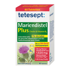 Mariendistel Plus Cholin & Vitamin B2 (60 Kapseln)