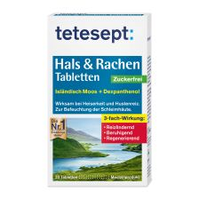 Hals & Rachen Tabletten Zuckerfrei (20 Tabletten)
