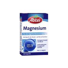 爱普泰 镁 每片含有240mg 满足每天需求(40粒胶囊)Magnesium 240mg (40 Kapseln)