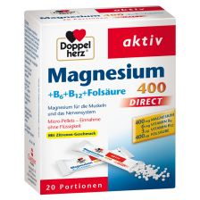 Magnesium 400 + B-Vitamine direct (20x1,2g)