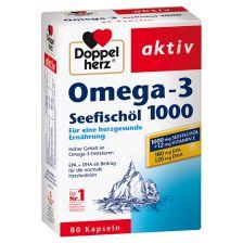 双心深海鱼油1000mg 80粒   Seefischöl Omega3 (80 Kapseln)