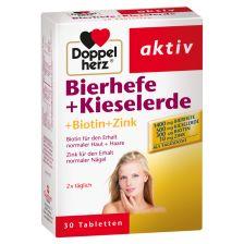 Bierhefe + Kieselerde (30 Tabletten)