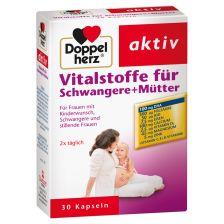 双心孕妇营养素胶囊 30粒 Vitalstoffe für Schwangere + Mütter (30 Kapseln)