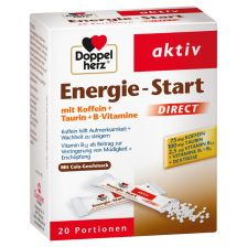 双心能量补充颗粒 20袋  Energie Start Direct (20 Portionen)