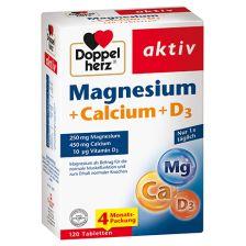 Magnesium + Calcium + D3 (120 Tabletten)