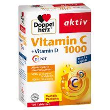 Vitamin C 1000 + Vitamin D Depot (100 Tabletten)