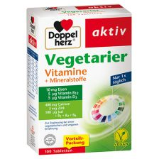 Vegetarier Vitamine + Mineralen (100 Tabletten)