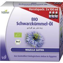 Bio Schwarzkümmel-Öl Vorratspack (3x100ml)