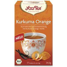 Yogi Tee Kurkuma Orange bio (17 Beutel)