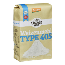 2 x Weizenmehl hell Type 405 demeter (2x1000g)