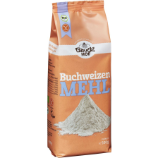 Buchweizenmehl Vollkorn bio (500g)