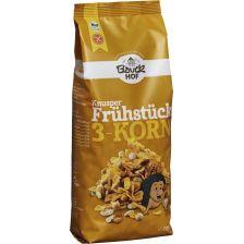 3-Korn Knusper Frühstück glutenfrei bio (225g)