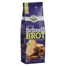 Schnellbrot mit Brotgewürz glutenfrei bio (500g)