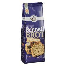 Schnelles Dunkles Brot - Glutenfreie Backmischung bio (475g)
