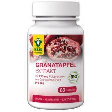 Bio Granatapfelextrakt (80 Kapseln)
