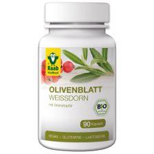 Olivenblatt mit Weißdorn bio (90 Kapseln)