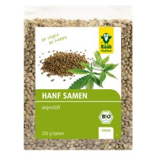 Bio Hemp Seeds unpeeled (250g)
