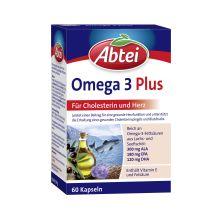 Omega-3-6-9 Lachsöl und Leinöl plus Olivenöl (60 Kapseln)