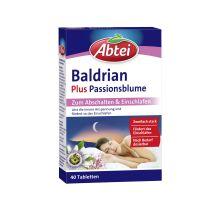 Baldrian Plus Passionsblume (40 Tabletten)