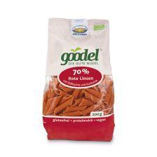 Goodel Rote Linsen Lupine Nudeln bio (200g)