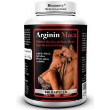 Arginin plus Maca 1500 (140 Kapseln)
