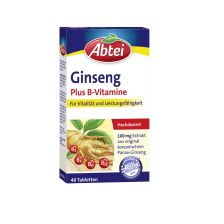 Ginseng Plus B-Vitamine (40 Tabletten)